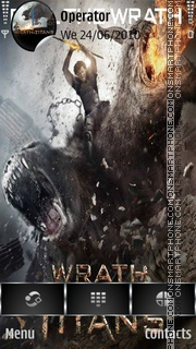Wrath of the Titans 01 es el tema de pantalla
