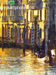 Venice Painting es el tema de pantalla