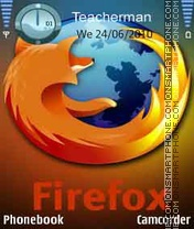 Fire-Fox Theme-Screenshot