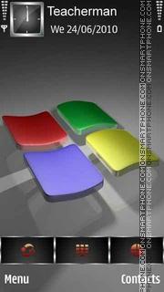 Скриншот темы 3D Windows