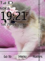 Скриншот темы Cute Kittens