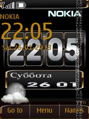 N-nokia theme screenshot