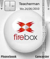 Firebox Logo theme screenshot