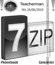 7Zip Cubes theme screenshot