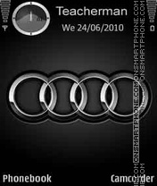 Скриншот темы Audi Logo
