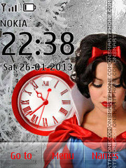 Snow White theme screenshot