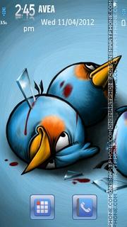 Dead Angry Birds tema screenshot