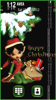 Happy Christmas tema screenshot