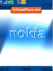 Nokia Animated theme screenshot