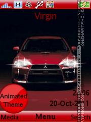 Mitsubishi Evo es el tema de pantalla