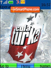 Cola Turka theme screenshot