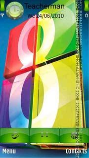 Windows Colors 8 theme screenshot