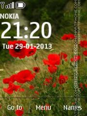 Скриншот темы Poppies