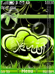 IsLamic Theme theme screenshot
