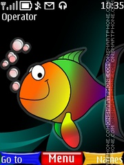 Colorful Fish theme screenshot