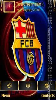 Barcelona 2013 logo theme screenshot