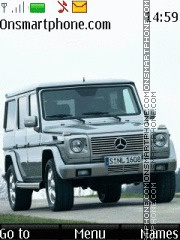 Mercedes Gelandewagen 01 theme screenshot