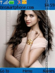 Deepika Padukone 12 theme screenshot
