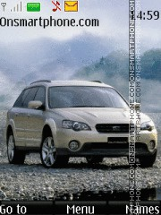 Subaru Outback theme screenshot