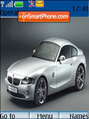 Bmw Z4 01 theme screenshot