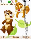 Chip and Dale 06 tema screenshot