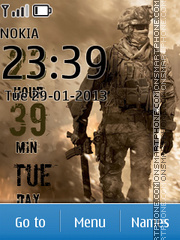 Call of Duty 07 theme screenshot