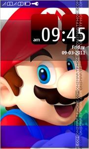 Mario Full Touch es el tema de pantalla