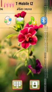 Flower For Marina tema screenshot