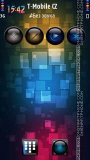 Pixeleted theme screenshot