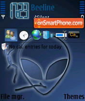 Alien 03 tema screenshot