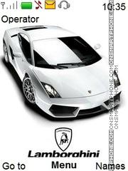Скриншот темы Lamborghini Gallardo