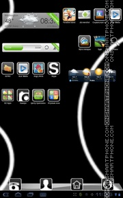 Template tema screenshot