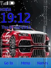 Animated Audi tema screenshot