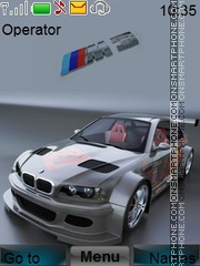 Bmw Animated theme screenshot
