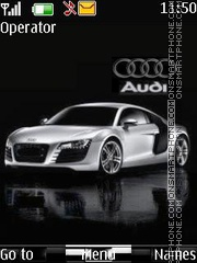 Animated Audi theme screenshot