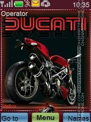 Ducati theme screenshot