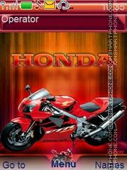 Скриншот темы Honda C1