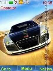 Скриншот темы Audi In Desert