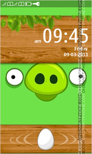 Bad Piggies theme screenshot