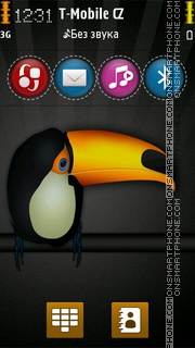 Toucan 01 theme screenshot