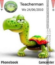 Mr. Turtle theme screenshot