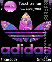 Adidas Violet theme screenshot
