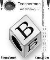Cubes B theme screenshot