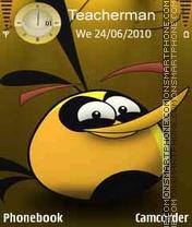 Happy Bird theme screenshot