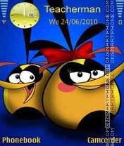 Happy Birds theme screenshot