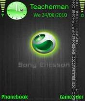 Скриншот темы Sony Ericsson