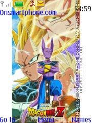 Dragon Ball Z Battle of Gods theme screenshot