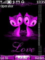 Скриншот темы Love Cats