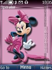Скриншот темы Minnie Mouse