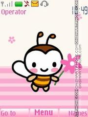 Capture d'écran Sweet Bee thème
